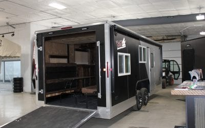 2019 Yetti Toy hauler RV Model- BlackLine