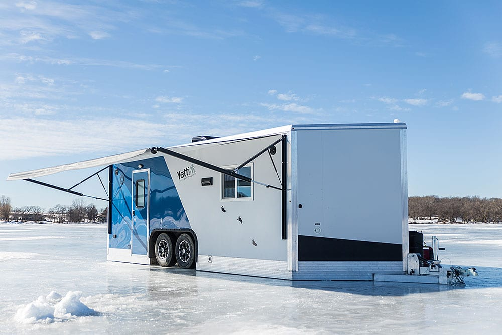Ice Forts | Premier Yetti Fish House Dealer | Ice Fish