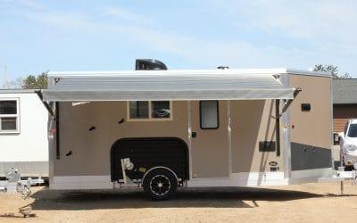 2019 Single Axle Yetti Fish House (Just Arrived)
