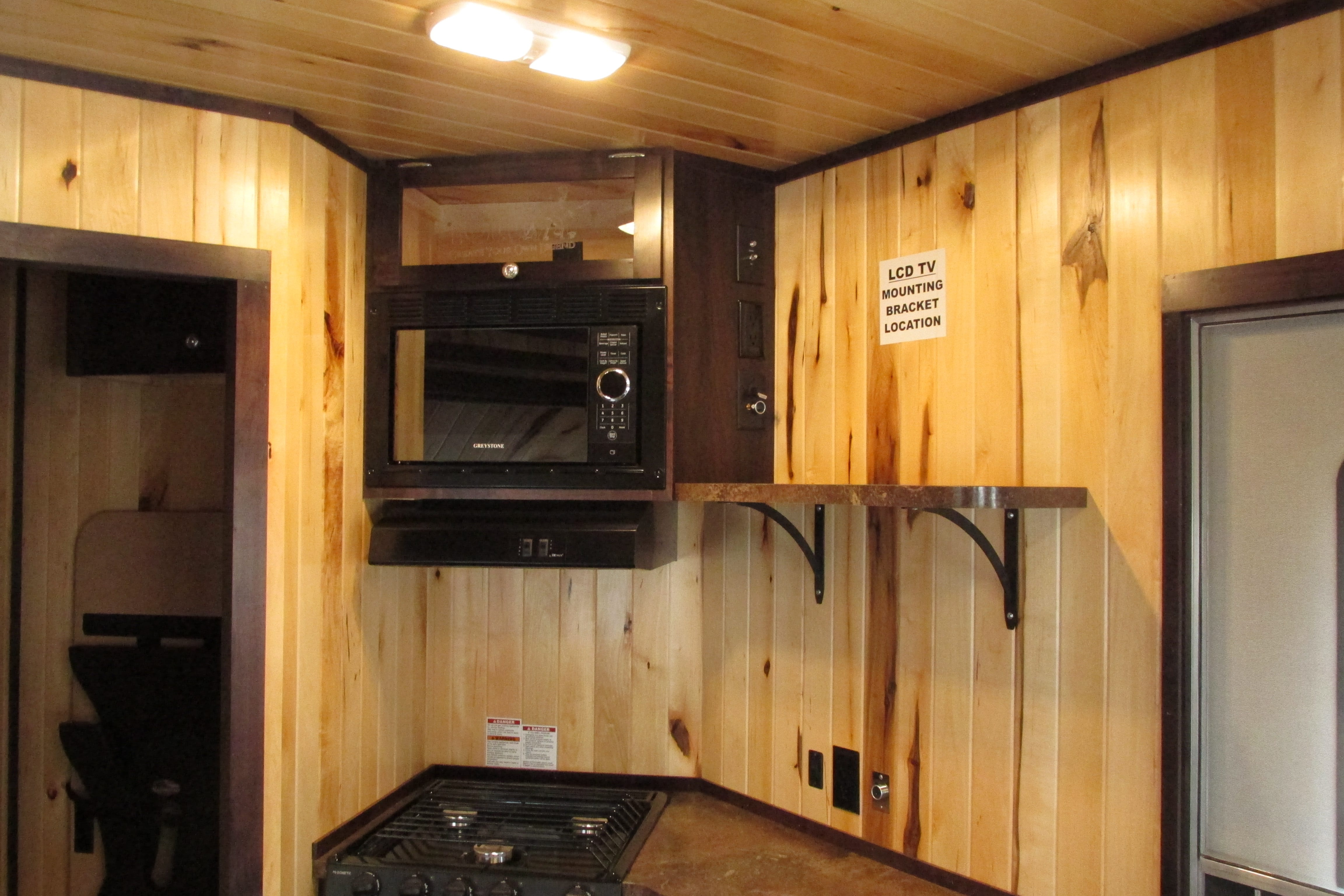 Upper cabinets with micro ice forts premier yetti fish for Upper cabinets for sale