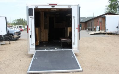 8'x16′ Yetti Ice House Traxx Edition featuring Walnut Cabinets *REDUCED*