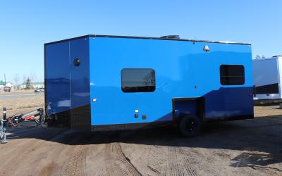 Outdoor Getaway Blue 8′ x 12 HFSND