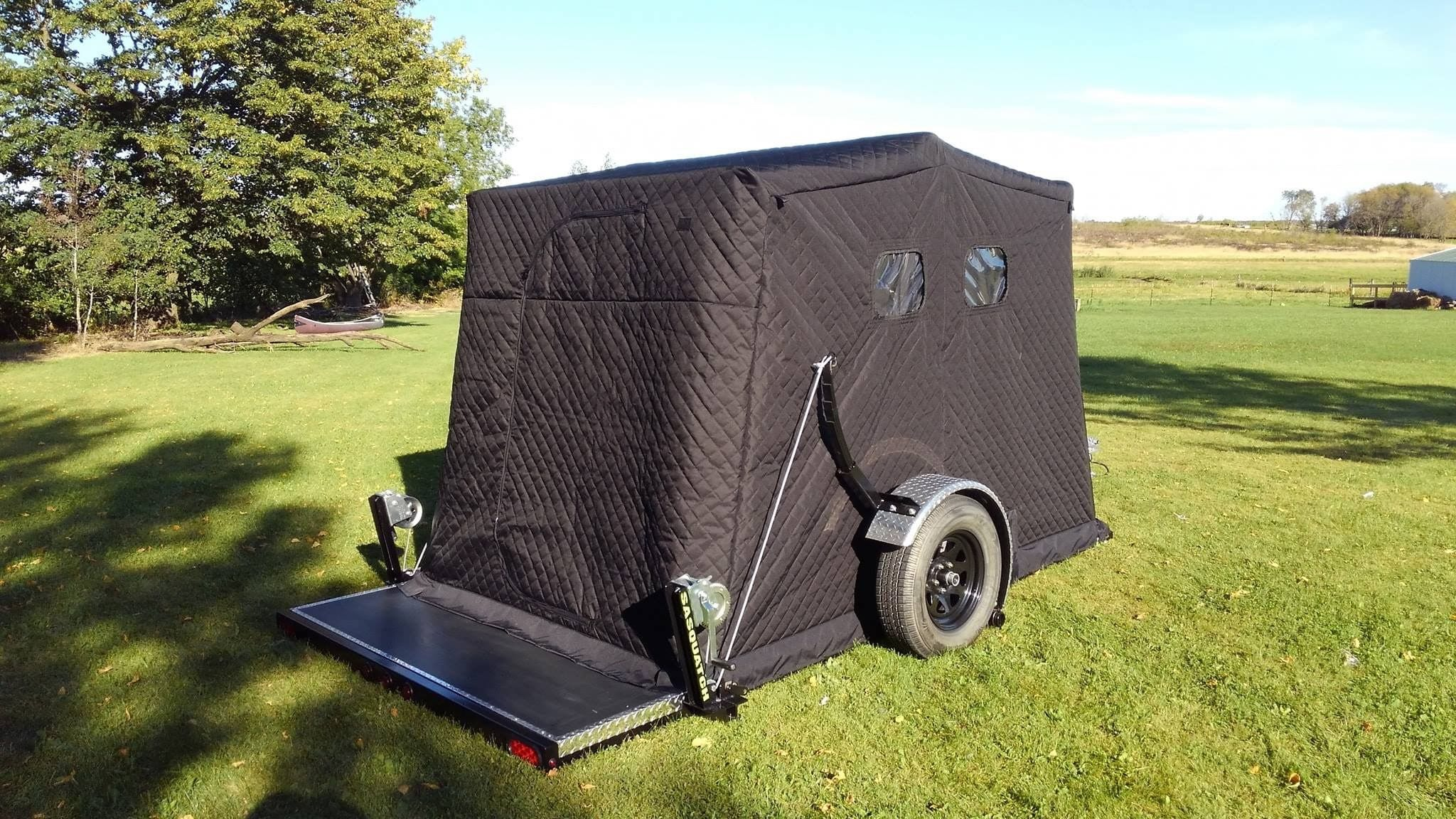 Ice Forts | Premier Yetti Fish House Dealer | Ice Fish ... on movable ice house designs, portable fish house designs, ice house axle plans, ice fishing house designs, ice house ideas, ice shack designs,