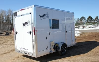 2020 Yetti Shell 6.5'x12′ Toy hauler – w/ Spear Option