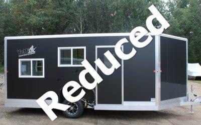 2019 Yetti Fish House Angler Edition Shell-  8'x17′