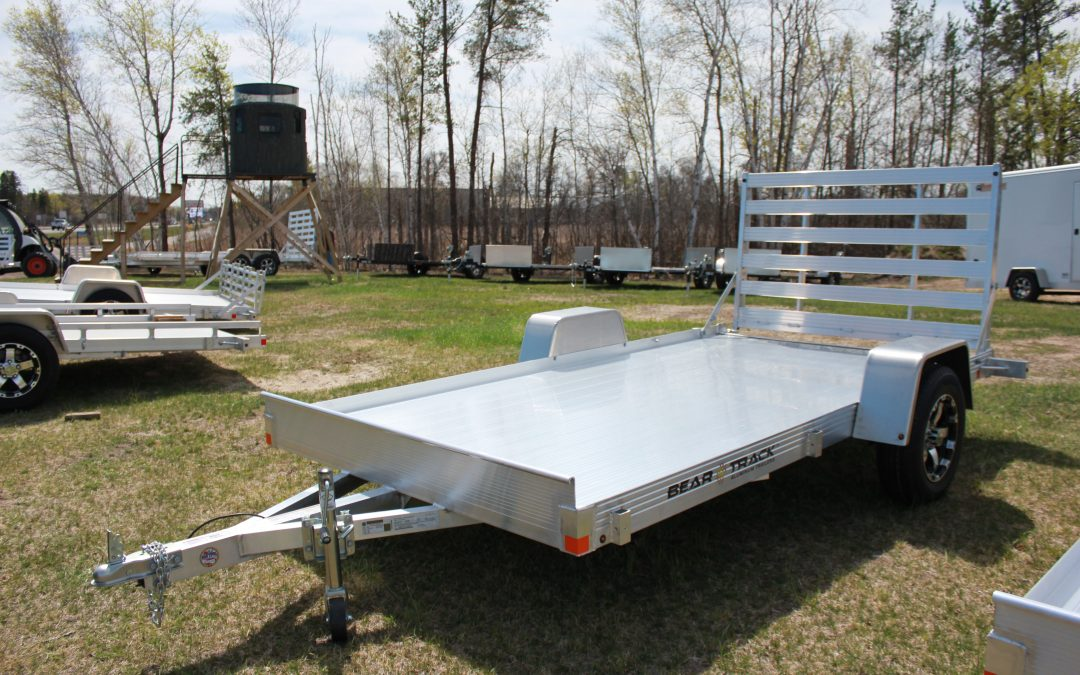 Bear Track Lightweight Trailer BTU76144F-NEW MODEL