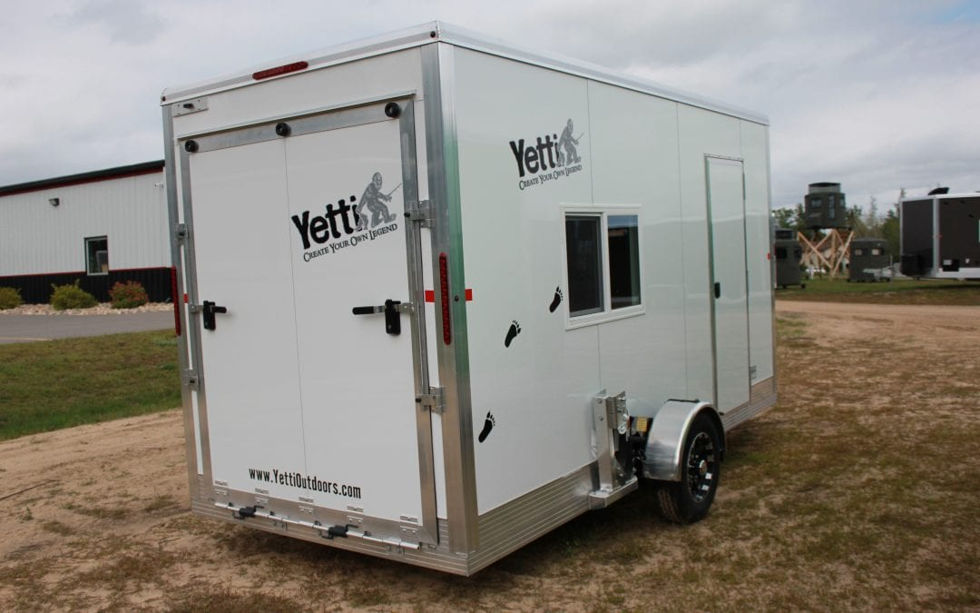 Yetti Shell Spear Option Included & Toy Hauler 6.5′ x 14′