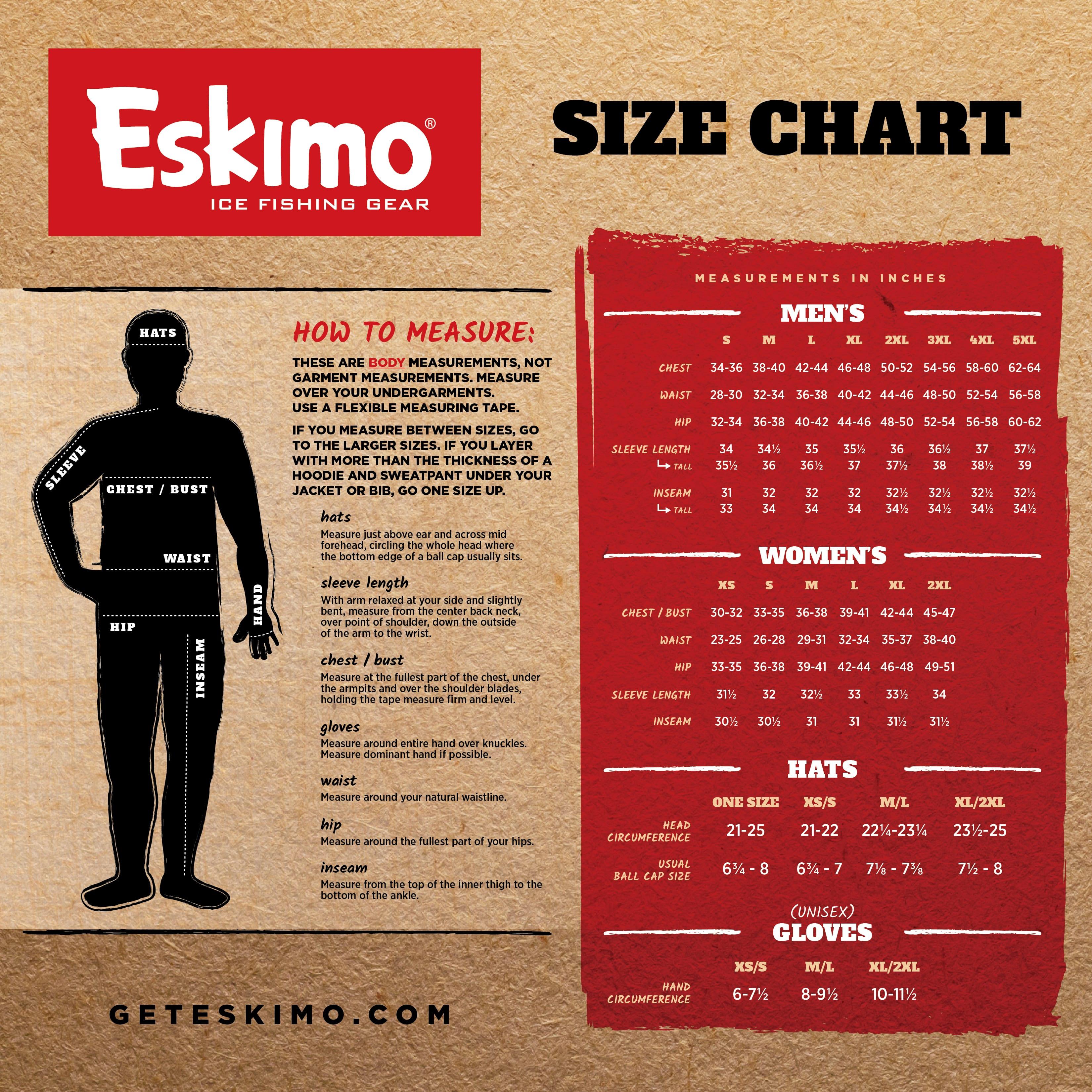 Eskimo Mens Flag Chaser Vest