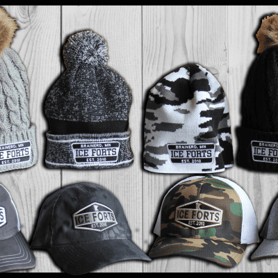 Ice Forts Hats