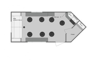 Yetti Gray Angler 8′ x 16′- Coming Soon