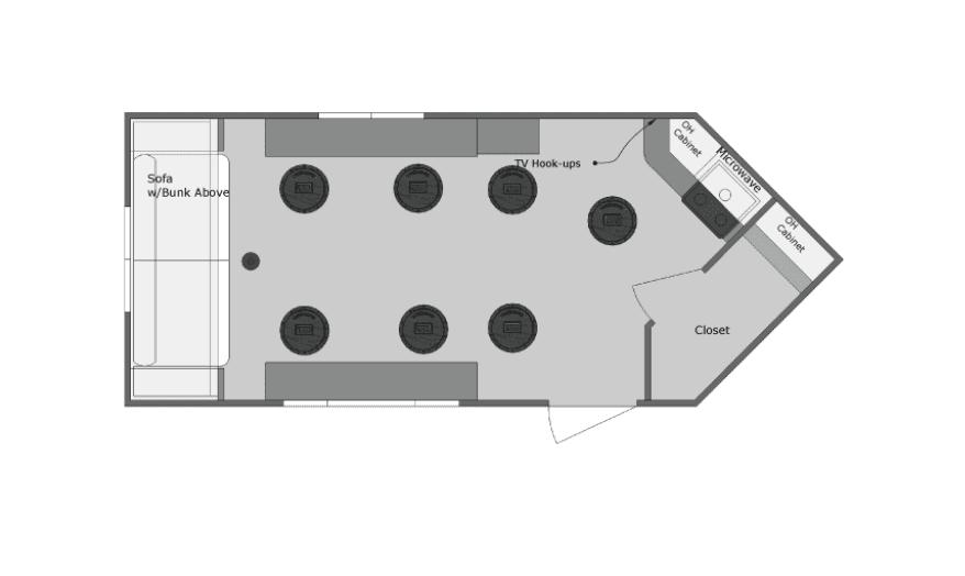 Yetti Gray Angler 8′ x 16′ A816-DK – Coming Soon