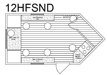 Custom 8′ x 12′ HFSND